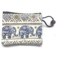 Cute Elephant Design Childrens Coin Purse - Fair Trade - Available in 3 colours
