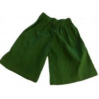 Kids Plain Green Shorts Ages 1 - 5 - Fair Trade