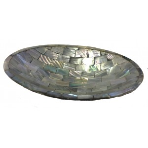 Beautiful Iridescent Paua Shell Soap Dish from Java - Fair Trade