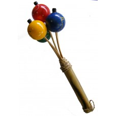 Brightly Coloured Children's Ping Pong Shaker