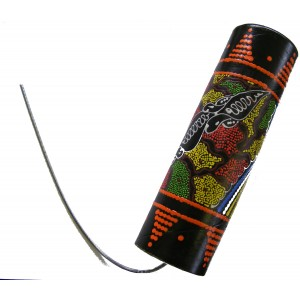 Large hand Painted Thunder Drum / Spring Drum from Bali, Great Sound Effect