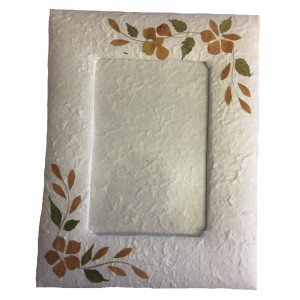 Beautiful Handmade  Sa Paper ( Mulberry Paper ) Traditional Photo Frame - Fair Trade