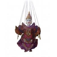 Genuine Traditional Handmade Yoke Thé Burmese Marionette Puppet