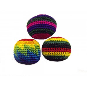 Set of 3 colouful juggling balls! Perfect for beginners and pro's (colours are assorted) - Fair Trade