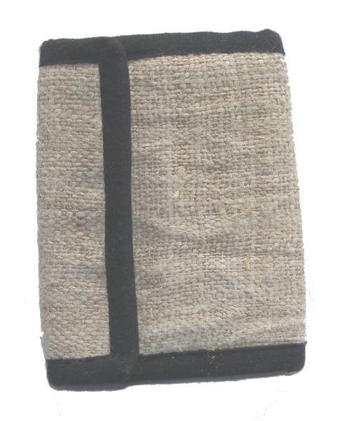 Natural Hemp Wallet - Handmade In Nepal - Stylish, Durable & Fair Trade
