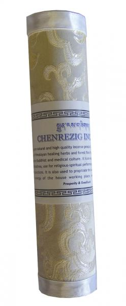 Bhutanese White Chenrezig Incense - Fair Trade